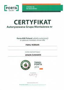 certyfikat okna i drzwi